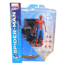 FEB172613I  MARVEL SELECT SPIDER-MAN HOMECOMING MOVIE AF (C: 1-1-2)