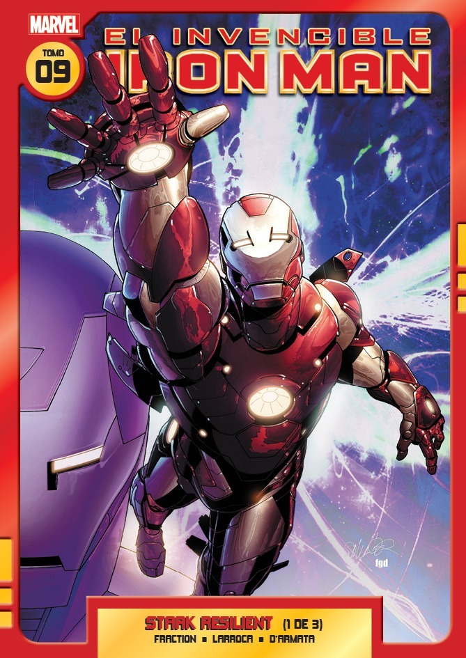 LIBRO EL INVENCIBLE IRON MAN 09